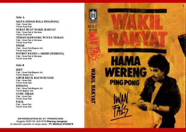 Iwan Fals ~ Wakil Rakyat